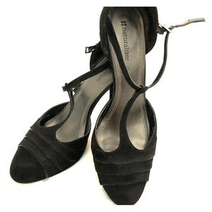Naturalizer heels. Black suede